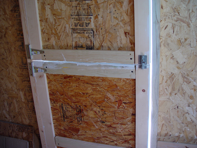 On The Right Side Of Door You See Slide Latch That We Used Keep Two Halves Together As A One Piece Or Separated