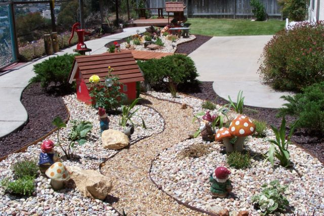 Chula Vista, Ca, Built This Using This Idea. Thanks Jack For Sharing Your  Photos Of Your Beautiful Rock Garden And Water Wheel House!