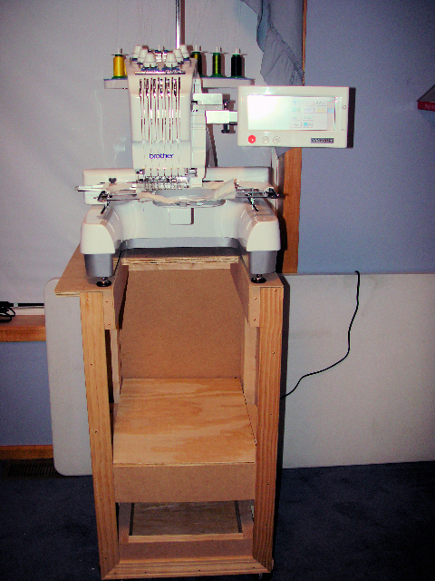 Embroidery Machine Stand For A Commercial Single Head Embroidery Machine