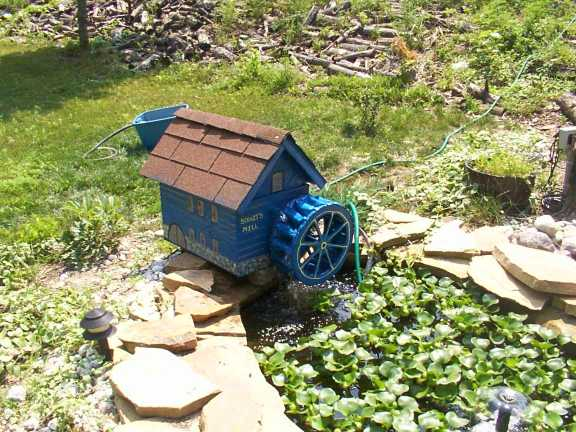 Water wheel project for Homemade pond aerator plans