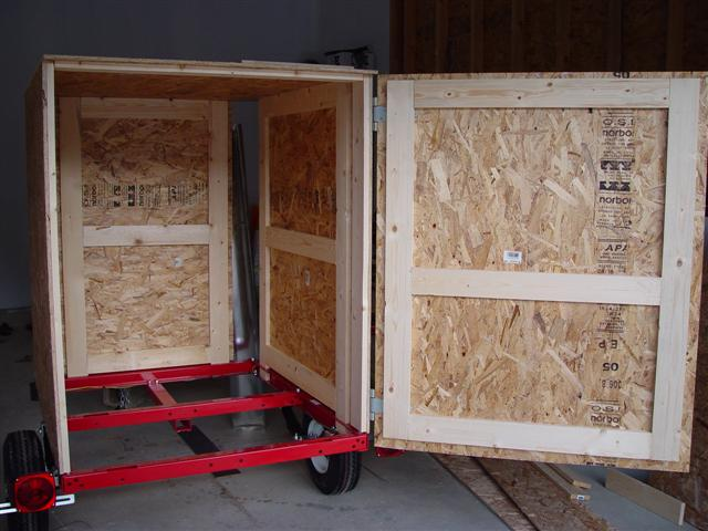 Diy Enclosed Trailer Building An Enclosed Trailer